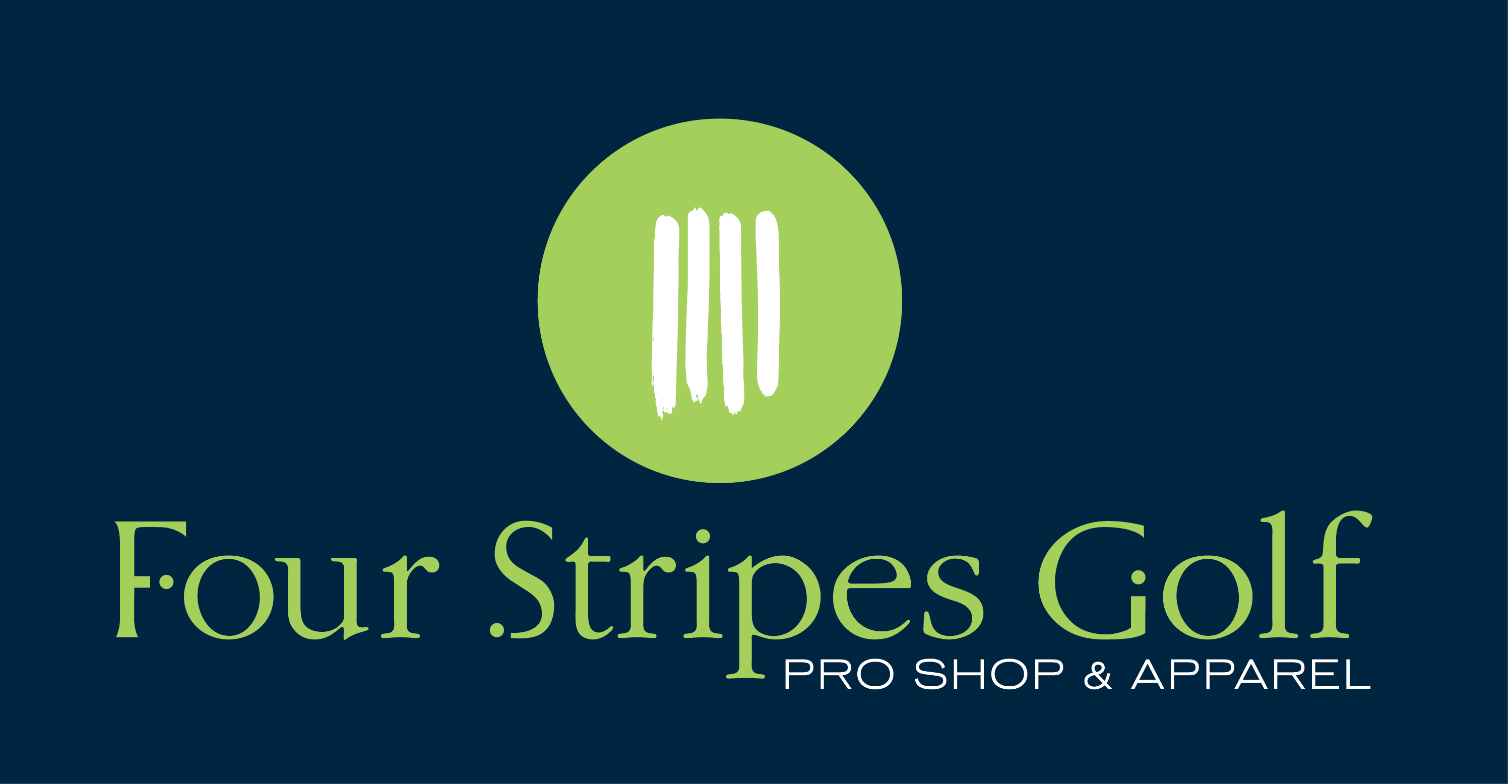 Four-Stripes-Golf-logo-Blue-BG-Large Sponsor & Advertise